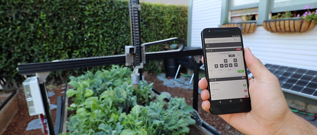 FarmBot – Opensourced farming robot inspired from 3D printing