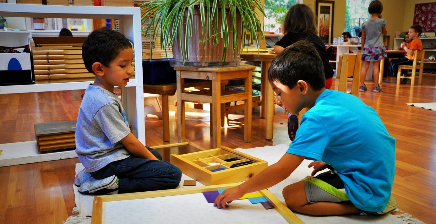 Montessori – A pedagogy based on a child's natural development process